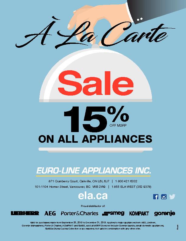B1449 Euroline A La Carte Flyer