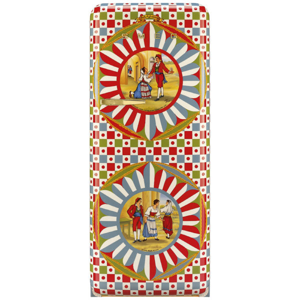 Refrigerator of Art Dolce&Gabbana and Smeg DT02PBU