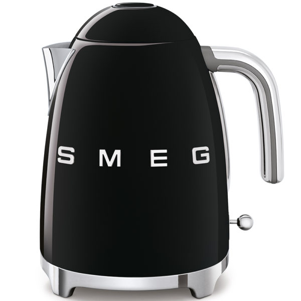 Electric Kettle 50'S Style, Black