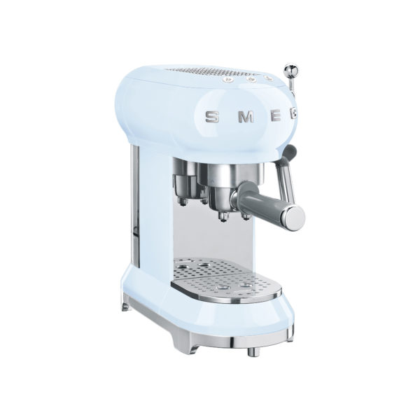 Espresso Machine, Pastel Blue