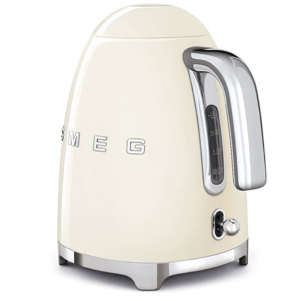 Electric Kettle 50'S Style, Cream