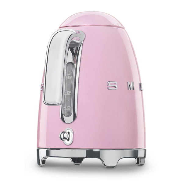 Electric Kettle 50'S Style, Pink