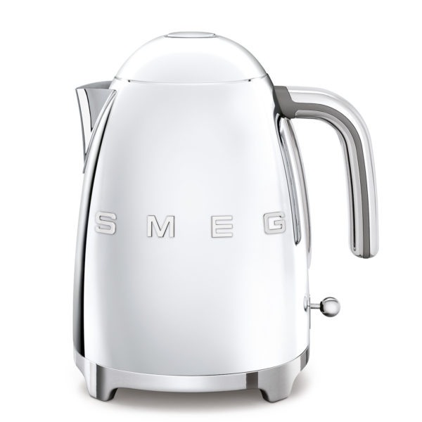 Electric Kettle 50'S Style, Chrome