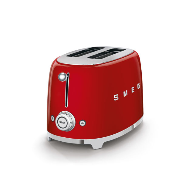 2-Slice Toaster, Red