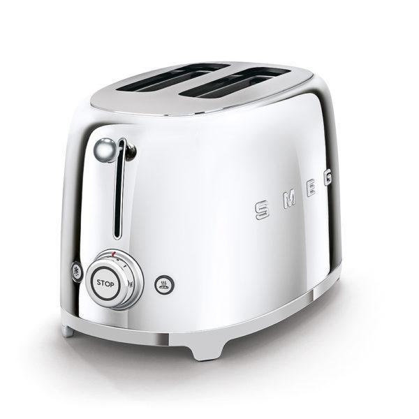 2-Slice Toaster, Silver