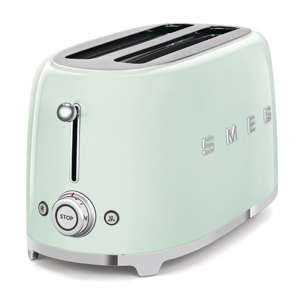 4-Slice Toaster, Pastel Green