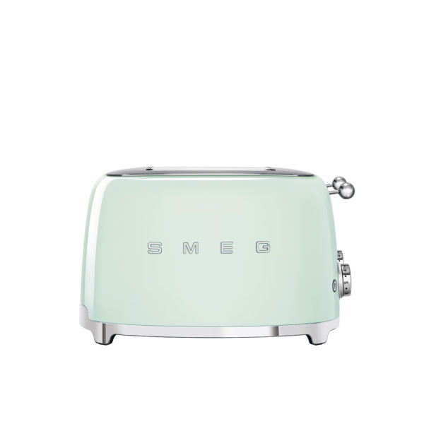 4X4  Slot Toaster 50's Style, Pastel Green